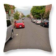 Warren Street 1 Throw Pillow
