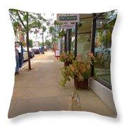 Warren Street 2 Throw Pillow