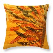 Warring Heart - Tile Throw Pillow