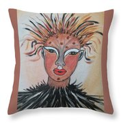 Warrior Woman  #3 Throw Pillow