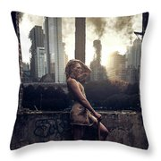 Warriors Come Out To Play Throw Pillow