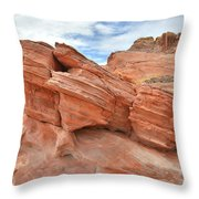 Wash 3 Beehives In Valley Of Fire Throw Pillow