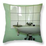 Wash Basin Throw Pillow