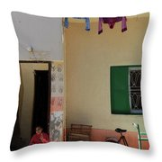 Wash Lane Throw Pillow