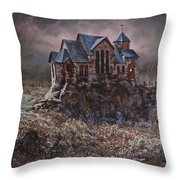 Washed In The Waters Throw Pillow