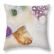 Washed Up # 5 Throw Pillow