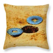 Washers Throw Pillow