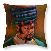 Bashbozuk  Throw Pillow