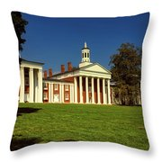 Washington And Lee University Throw Pillow