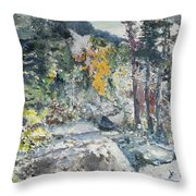 The Enchantments Throw Pillow