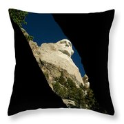Washington From Inside Throw Pillow