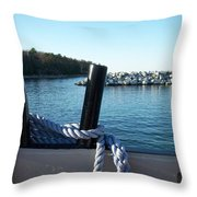Washington Island 1 Throw Pillow