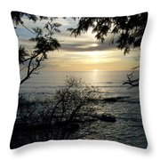 Washington Island Morning 4 Throw Pillow