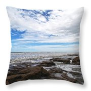 Washington Oaks Garden State Park Throw Pillow