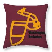 Washington Redskins Retro Throw Pillow