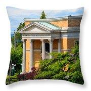 Washington State Historical Society Throw Pillow