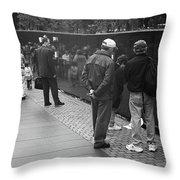 Washington Street Photography 1 Throw Pillow