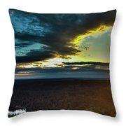 Washington Sunset Throw Pillow