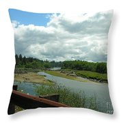 Washinton Coast 2 Throw Pillow