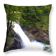 Washngton Falls1 Throw Pillow