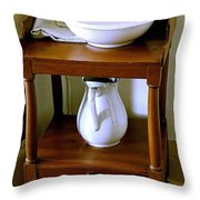 Washstand Throw Pillow
