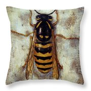 Wasp Throw Pillow