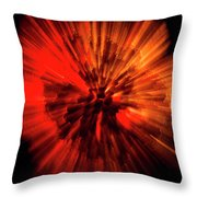 Wasp Nest Asteroid Two Throw Pillow