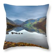 Wast Water Throw Pillow