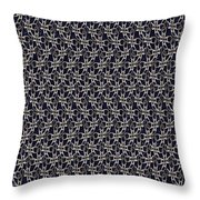 Waste In Space Throw Pillow