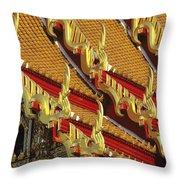 Wat Benjamabophit Throw Pillow