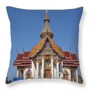 Wat Chaimongkron Phra Wihan Dthcb0088 Throw Pillow