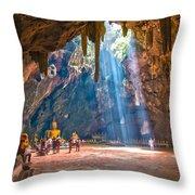 Wat Khao Luang Throw Pillow