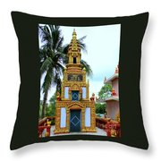 Wat Krom 26 Throw Pillow