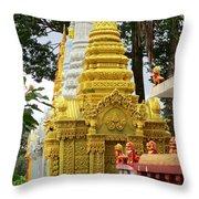 Wat Krom 30 Throw Pillow