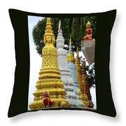 Wat Krom 31 Throw Pillow