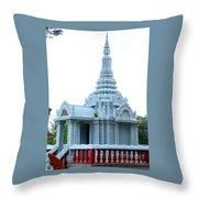 Wat Krom 35 Throw Pillow