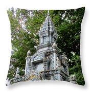 Wat Krom 37 Throw Pillow