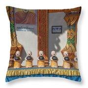 Wat Mae Faek Luang Phra Wihan Daily Merit Bowls Dthcm1879 Throw Pillow