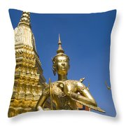 Wat Phra Kaeo Throw Pillow