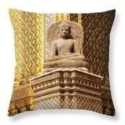 Wat Phra Kaew Throw Pillow