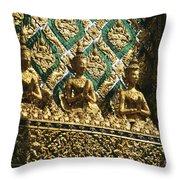 Wat Phra Keo (grand Palac Throw Pillow