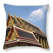 Wat Po Bangkok Thailand 24 Throw Pillow
