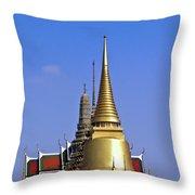 Wat Po Bangkok Thailand 3 Throw Pillow