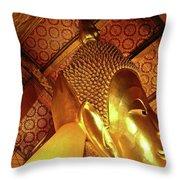 Wat Po Bangkok Thailand 34 Throw Pillow