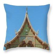 Wat Suan Prig Phra Wihan Gable Dthcm2391 Throw Pillow