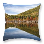 Watagua Lake, Tn Throw Pillow
