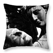 Watch Over Me  Throw Pillow