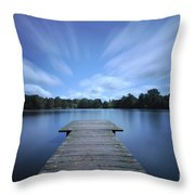 Watch The Day Go By Throw Pillow