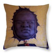 Watch What You Eat Throw Pillow