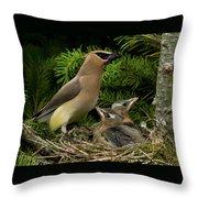 Watchful Parent Throw Pillow